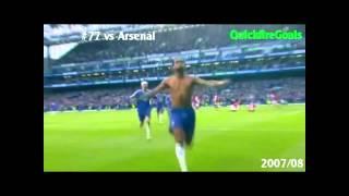 Didier Drogbas Tore gegen den FC Arsenal