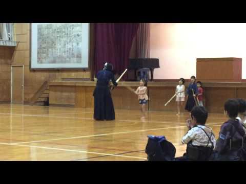 H27 9/2 可知小学校 新入団員2