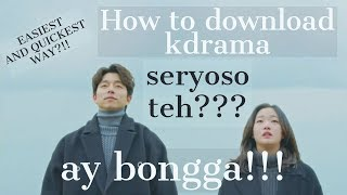 Nonton How To Download Kdrama  Easiest And Quickest Way  Film Subtitle Indonesia Streaming Movie Download