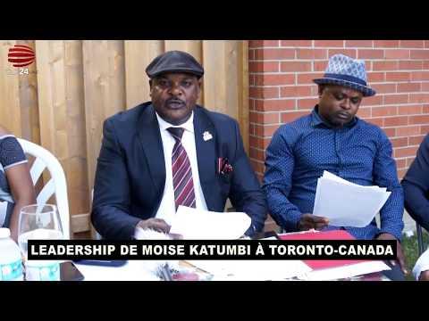 TÉLÉ 24 LIVE:  LEADERSHIP DE MOISE KATUMBI À TORONTO-CANADA