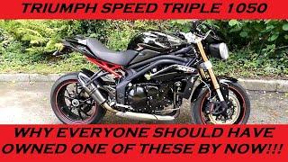 1. 2011 TRIUMPH SPEED TRIPLE 1050 REVIEW AND THOUGHTS vs APRILIA TUONO 1000R GEN 2
