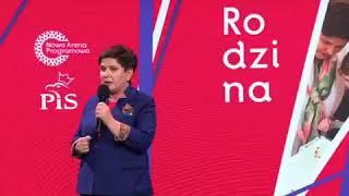 """Beata Szydło o """"prezencie od Jarosława Kaczyńskiego dla wszystkich emerytów"""""""
