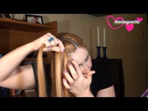 como hacer una TRENZA FRANCESA./ Peinado , moderno