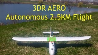 Adam from http://www.aeroworksproductions.com demonstrates a 2.5 Km autonomous flight using the 3DR AERO. This aircraft ...