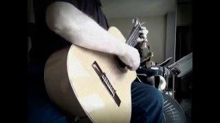 Ghebleh Ebi Guitar Coverآهنگ قبله از ابی با گیتار
