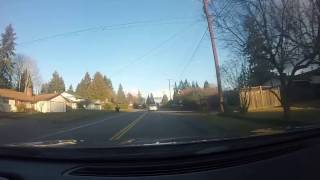 Car Ride Around South Everett with GoPro