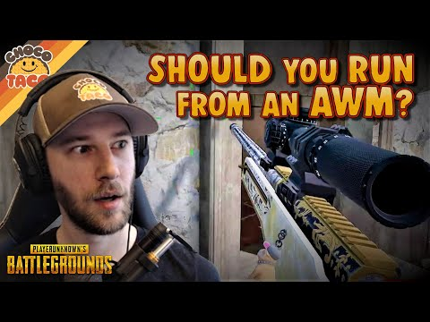 Should You Run Away from an AWM? ft. Swagger - chocoTaco PUBG Duos Gameplay