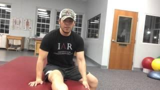 【シンスプリントの対策&ケア第二弾】膝窩筋をほぐすエクササイズ