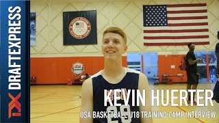 Kevin Huerter USA Basketball U18 Training Camp Interview