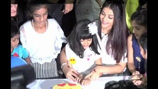 Aishwarya rai Bachchan CUTE Moments With Aaradhya Bachchan