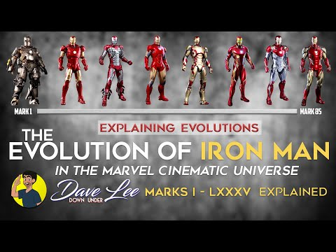 Evolution of IRON MAN in the MCU (All Armors 1 - 85) 2008 - 2019 Explained