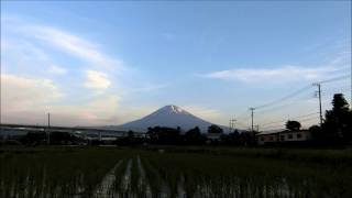 CASIO EXILIM EX-ZR850 TimeLapse 富士山(2015年6月2日)
