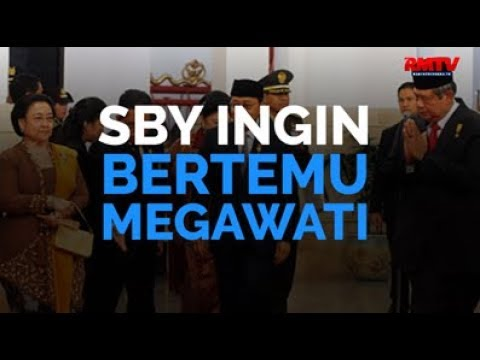 SBY Ingin Bertemu Megawati