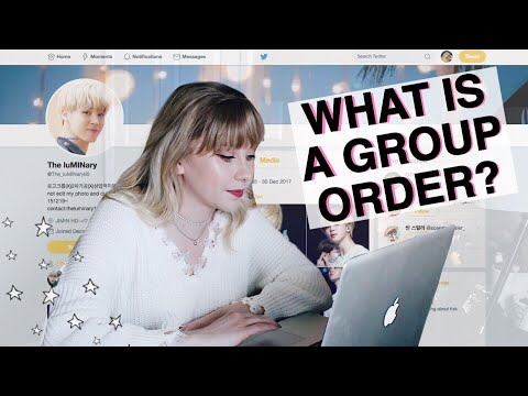 How To Order From A Kpop Fansite