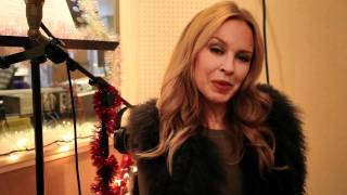 Kylie Minogue - Let It Snow & New York performance teaser.