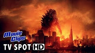 Godzilla Official TV SPOT - In Theaters Friday (2014) HD