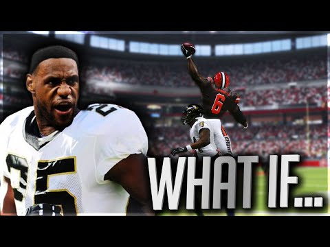 What if Lebron James Was in the NFL?