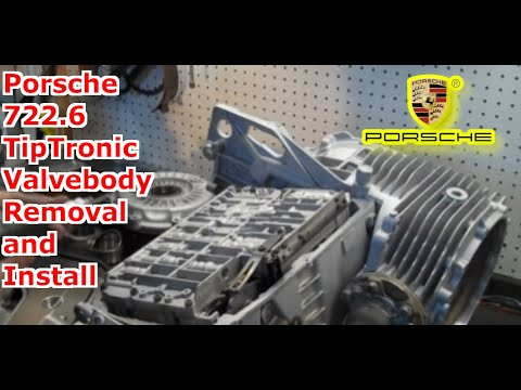 722.6, Nag1, W5a580, Tiptronic Valve Body Installation