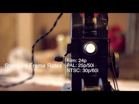 cricketcoachguy - An overview of frame rate. Perfect for those learning video on a DSLR.