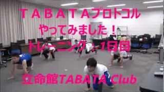 【タバタプロトコル】短い時間で効率的に体を追い込もう!【基礎代謝UP】