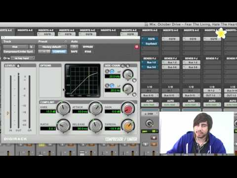 Understanding a Compressor – Pro Tools 9