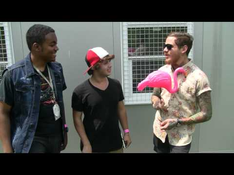 Mike Hranica - I, along with David McDonald of WXOU, got to meet up with The Devil Wears Prada's Mike Hranica at Mayhem Festival 2012 to interview them for The Oakland Post...