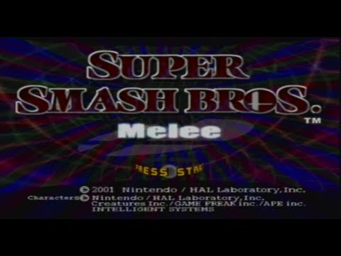 super smash bros melee gamecube soluce