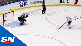 Quinn Hughes Shows Off Silky Mitts With Goal On Jordan Binnington by Sportsnet Canada