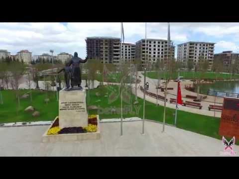 Gaziantep Şehitkamil Meydanı ve Korusu 4K Havadan çekimleri