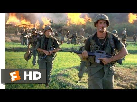 Platoon (1986) - Burning the Village Scene (4/10)   Movieclips