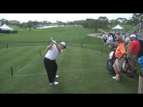 GOLF SWING 2013 – DAVID DUVAL IRON DRIVE – ELEVATED DTL REGULAR & SLOW MOTION – 1080p HD