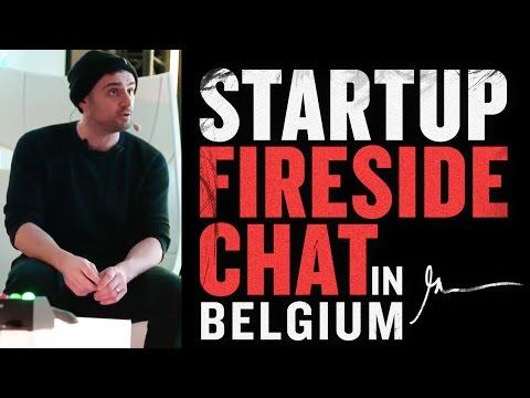 Startup Fireside Chat Gary Vaynerchuk | Belgium 2017
