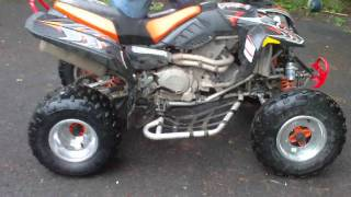 6. 2004 Polaris Predator 500 Troy Lee