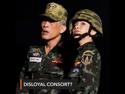 Thai king strips 'disloyal' royal consort of all titles – palace