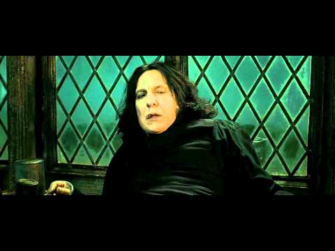 Harry Potter and the Deathly Hallows - Part 2 (Snape's Death Scene - HD) (видео)