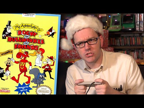 Rocky and Bullwinkle (NES) - Angry Video Game Nerd (AVGN)