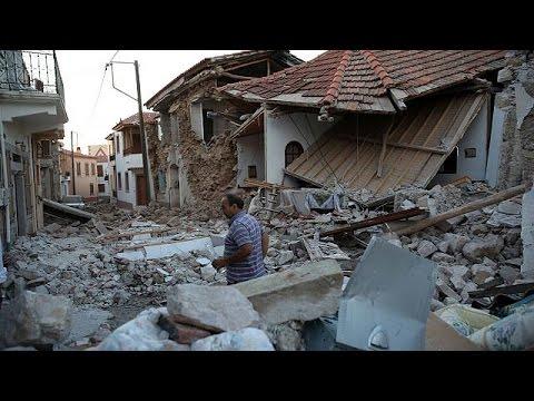 Λέσβος: Οι κάτοικοι της Βρίσας περιγράφουν τις εφιαλτικές στιγμές που έζησαν