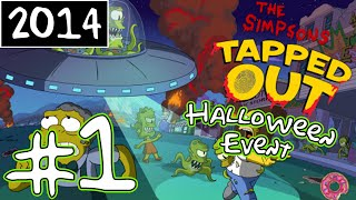 KC Plays! - The Simpsons: Tapped Out | Halloween Event | Part #1 (2014)