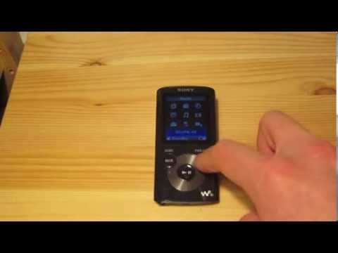 Sony Walkman NWZ-E384 Quick Walkthrough