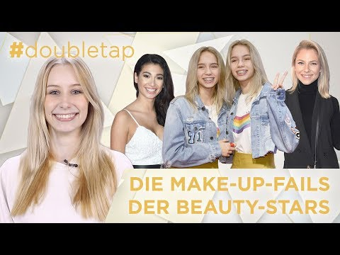 Die GLOW Stars verraten ihre Beauty-Fails | Paola, NikkieTutorials, Lisa & Lena – #doubletap Folge 6
