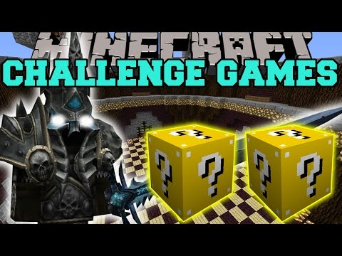 Minecraft: LICH KING CHALLENGE GAMES - Lucky Block Mod - Modded Mini-Game