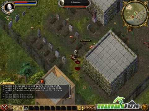 Ultima Online Gameplay Footage