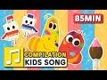 FEELINGS and other songs | 85 min | LARVA KIDS | Nursery Rhyme for kids