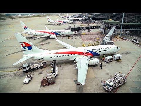Air Traffic at Kuala Lumpur Airport (KLIA1) Malaysia