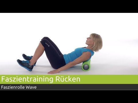 Faszientraining für den Rücken: Übung mit Rolle in Querposition | PINOFIT