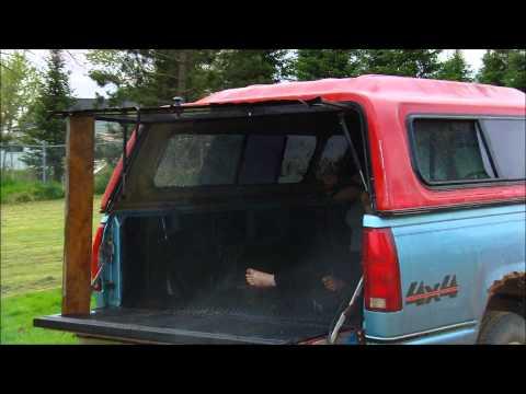 Homemade Truck Bed Camper
