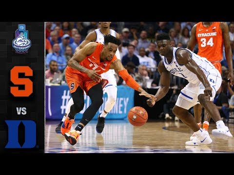 Syracuse vs. Duke ACC Basketball Tournament Highlights (2019)