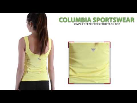 Columbia Sportswear Omni-Freeze® Freezer III Tank Top – UPF 50 (For Women)