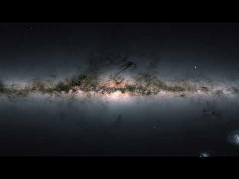 Европейское космическое агентство опубликовало самую подробную карту Млечного пути в формате «360°»