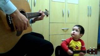 Don't Let Me Down - The Beatles, por Diogo Mello (1 ano e 11 meses) - YouTube